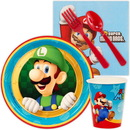 Birthday Express 238698 Super Mario Party Snack Party Pack