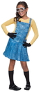 Rubies Costumes 241680 Minions Movies: Female Minion Child Costume