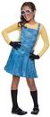 Rubies Costumes 241681 Minions Movies: Female Minion Child Costume