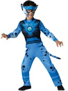 In Character Costumes 241761 Wild Kratts Quality Cheetah Blue Child
