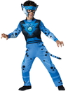 In Character Costumes 241763 Wild Kratts Quality Cheetah Blue Child