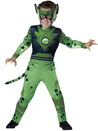 In Character Costumes 241764 Wild Kratts Quality Cheetah Green Child