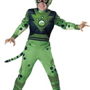 In Character Costumes 241765 Wild Kratts Quality Cheetah Green Child