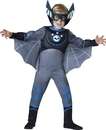 In Character Costumes 241768 Wild Kratts Quality Bat Blue Child