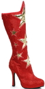 Ellie Shoes 242283 Women's Red Superhero Star Boots