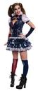 Rubies Costumes 242522 Secret Wishes Harley Quinn Adult Costume