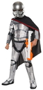Rubies Costumes 244359 Star Wars Episode VII - Girls Captain Phasma Super Deluxe Costume