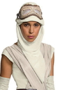 Rubies Costumes 244394 Star Wars Episode VII - Rey Adult Eye Mask with Hood