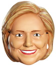 Disguise 244856 Hillary Clinton Vacuform Election Half Mask