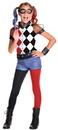 Rubies 245246 DC Superhero Girls: Harley Quinn Deluxe Child Costume