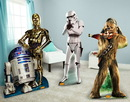 Advanced Graphics 253090 Star Wars Chewbacca, Stormtrooper and R2D2 & C3PO Standup Combo Kit
