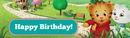 Birthday Express 255607 Daniel Tiger's Neighborhood Birthday Banner