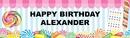 Birthday Express 255608 Candy Shoppe Birthday Banner