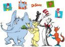 Dr Seuss Character Group Shot Stand In