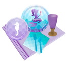Birthday Express 259913 Mermaids Under the Sea 16 pc Guest Pack Plus Molded Cups