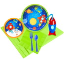 Birthday Express 259919 Rocket To Space 16 pc Guest Pack Plus Molded Cups