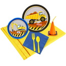 Birthday Express 259923 Construction Party 16 pc Guest Pack Plus Molded Cups