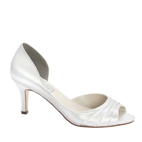 Touch Ups by Benjamin Walk Women's Nadia Shoes Satin White