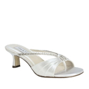 Touch Ups by Benjamin Walk Women's Phoebe Shoes Satin White