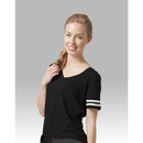 Boxercraft T62B Black Sporty Slub Tee