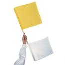 Blazer 2587 Yellow & White Umpires Flag /Ea