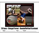 Blazer 5045 Baseball/Softball Enlarged 12 Player 50 Games