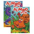 Bazic Products 12108-48 Jumbo Fun Coloring & Activity Book
