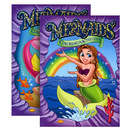 Bazic Products 12313-48 Mermaids Foil & Embossed Coloring & Activity Book
