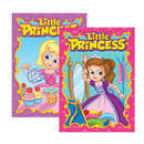 Bazic Products 12696-48 Little Princess Coloring & Activity Book
