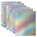 Bazic Products 2175-48 Holographic 2-Pockets Portfolios