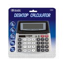 Bazic Products 3012-72 12-Digit Dual Power Desktop Calculator W/ Adjustable Display