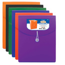 Bazic Products 3106-12 7-Pocket Letter Size Vertical Poly Expanding File