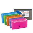 Bazic Products 3116-24 5-Pockets Coupon/Personal Check Size Expanding File