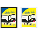 Bazic Products 3157-48 2-Pockets Poly Portfolio W/ View Cover