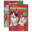 Bazic Products 49132-48 Kappa Puppies & Kittens Christmas Coloring & Activity Book