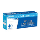 Bazic Products 5067-24 #10 Self-Seal White Envelope (40/Pack)