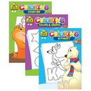 Bazic Products 6340-48 School Zone Coloring & Activity Books