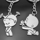 Aspire Lover Couple Cute Keychain Key Rings, Price/One Pair, Wholesale Keychains