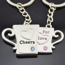 Aspire Valentine Gift Cool Keychains Keyring, Price/One Pair, Wholesale Keychain