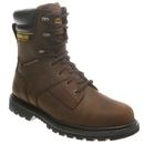 """Cat Footwear P89785 Dark Brown Salvo 8"""" Waterproof Steel Toe Work Boot"""