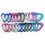 GOGO 24 PCS Aluminum Heart Carabiners in Assorted Colors, Gift Idea