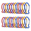 GOGO 24 PCS Aluminum Fish Carabiners in Assorted Colors, Church Gift