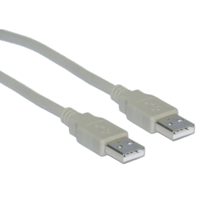 CableWholesale 10U2-02106 USB 2.0 Type A Male to Type A Male Cable, 6 foot