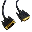 CableWholesale 10V2-05302BK DVI-D Dual Link Cable, Black, DVI-D Male, 2 meter (6.6 foot)