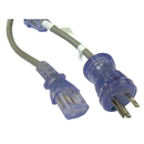 CableWholesale 10W2-51510 Hospital Grade, Green Dot, Power Cord, Nema 5-15 to C13, 14 AWG, SJT, 15 Amp / 125 Volt, 10 Foot