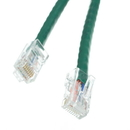 CableWholesale 10X6-15101 Cat5e Green Ethernet Patch Cable, Bootless, 1 foot