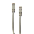 CableWholesale 10X6-52101 Shielded Cat5e Gray Ethernet Cable, Snagless/Molded Boot, 1 foot