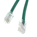 CableWholesale 10X8-15101 Cat6 Green Ethernet Patch Cable, Bootless, 1 foot