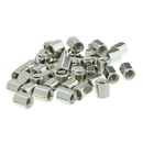 CableWholesale 30D1-02440 Hex Nut, # 4 - 40, 100 Pieces, 5.0mm