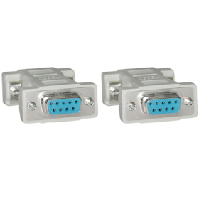 CableWholesale 30D1-18400 Null Modem Adapter, DB9 Female to DB9 Female